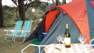 Acampamento em Bananal na Serra da Bocaina