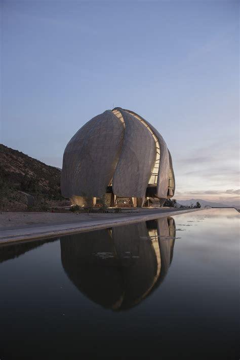 bahai temple santiago building chile  architect