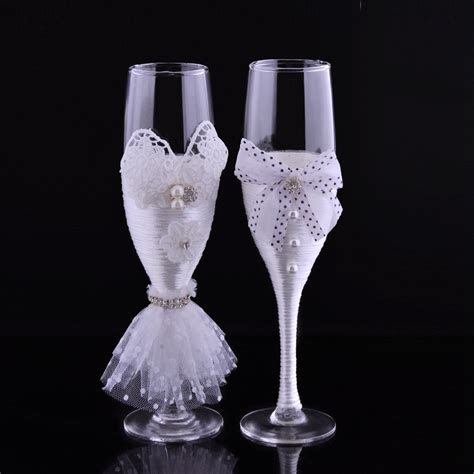 Popular Decorate Champagne Glasses Buy Cheap Decorate