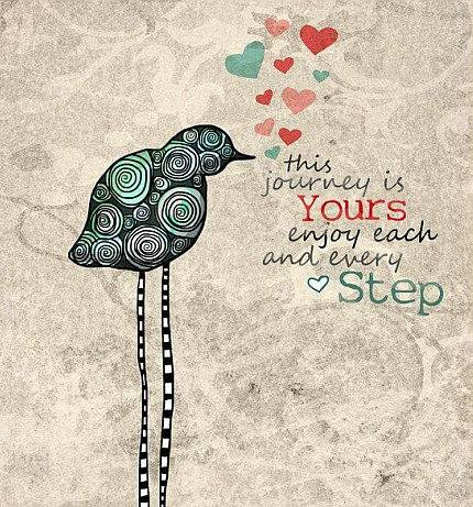 This Journey Is Yours Quote Picture