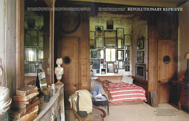 """Le Château in """"World of Interiors"""" 2004 July issue- 1"""