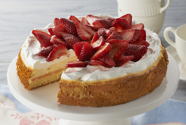 Strawberry Shortcake Cheesecake Recipe Kraft Canada