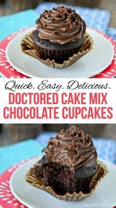 The Best Doctored Up Cake Mix Cake   Cakes, Chocolate and