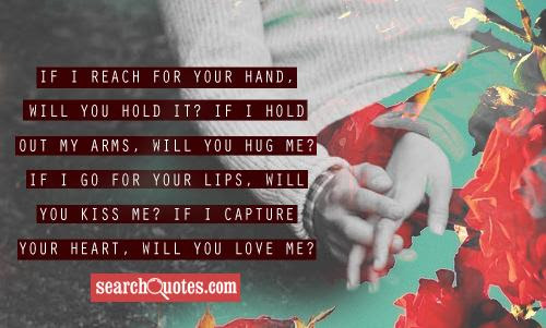 I Will Hold Your Hand Forever Quotes Quotations Sayings 2019