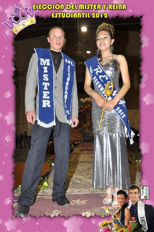 Reina y Mister 2012 Estudiantes Secundarios Villazón