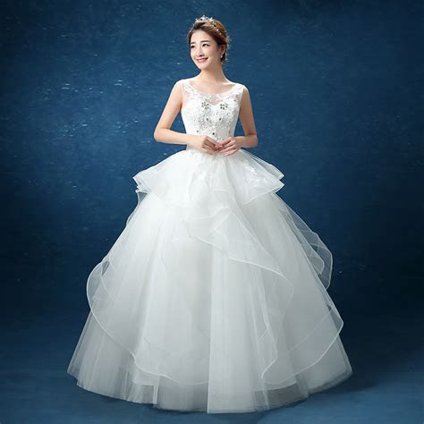 Aliexpress Hot Selling New Bride Wedding Dresses. Slim