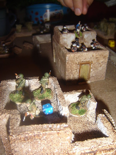 Firefight across the rooftops