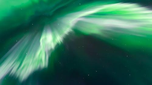 White aurora