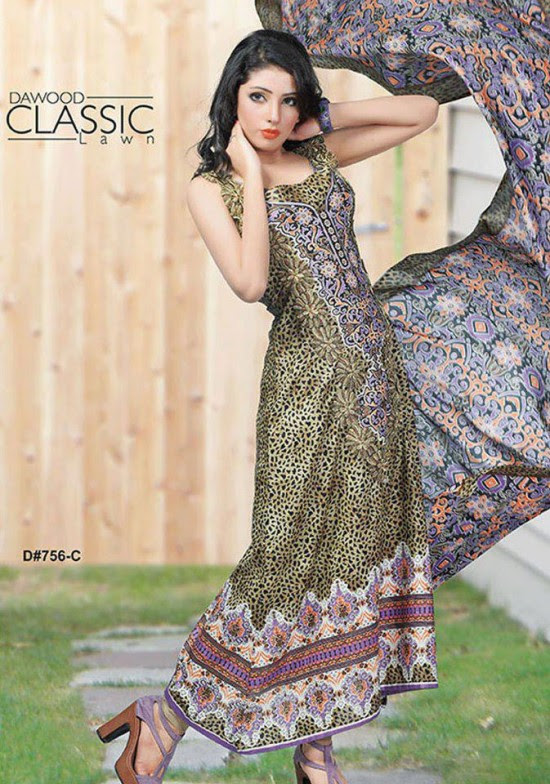 Dawood-Textile-Classic-Lawn-Collection-2013-New-Latest-Fashionable-Clothes-Dresses-6