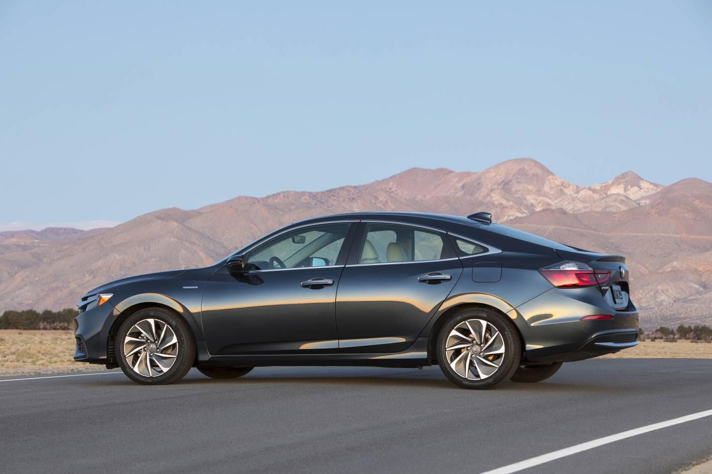 All-New 2019 Honda Insight production model revealed ...