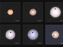 Unos planetas que giran al revés desafían a la ciencia