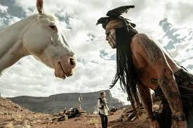 "Review: ""The Lone Ranger"" rides high on comedic action as Disney's"