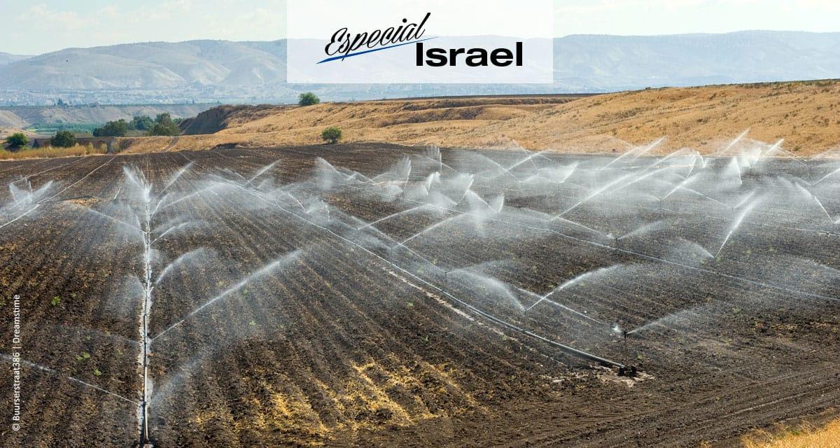 Índia deve usar o modelo israelense de sistema de irrigação