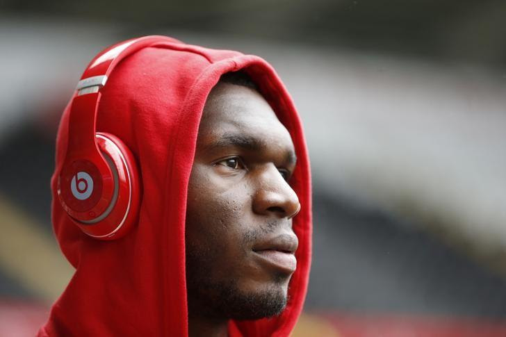 Britain Football Soccer - Swansea City v Liverpool - Barclays Premier League - Liberty Stadium - 1/5/16Liverpool's Christian Benteke arrives at the stadiumAction Images via Reuters / Carl RecineLivepic