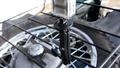 GoProHD + RAM Mount on Luggage Rack of Ural