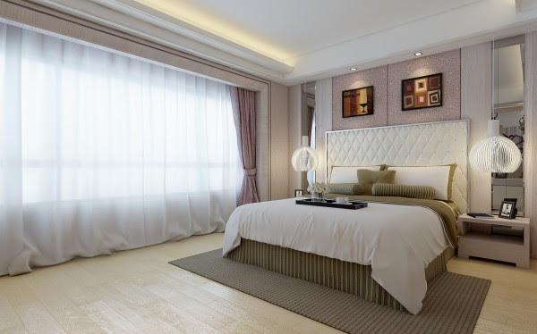 Contemporary bedroom 1