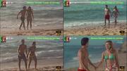 Mariana Marques Guedes sensual em biquini em agua de mar