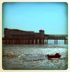 The pier stands impassively, a mute witness to the unfortunate mariner who tried to escape this God-forsaken town...