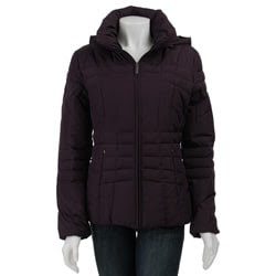 Calvin Klein Women's Short Hooded Down Jacket