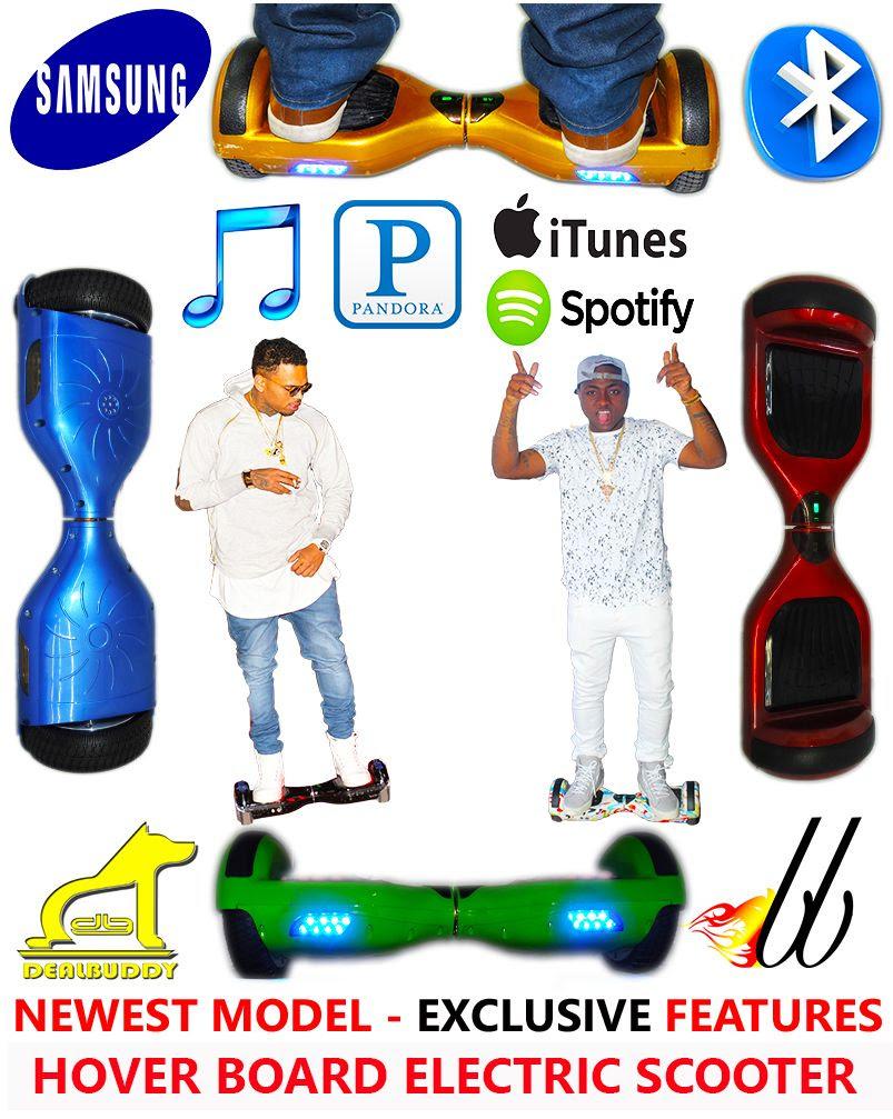Latest Model Hover Board Electric Scooter HoverBoard Samsung Bluetooth Speaker  eBay