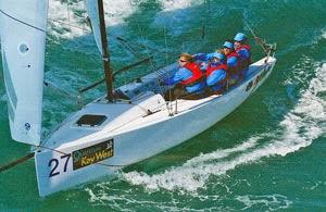 J/70 Junkanoo- sailing Key West- Suzy Leech