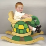 Child Rocking Turtle Chair Woodworking Plan - fee plans from WoodworkersWorkshop® Online Store - turtle,childrens rockers,childs rockers,kids furniture,full sized patterns,woodworking plans,woodworkers projects,blueprints,drawings,blueprints,how-to-build,MeiselWoodHobby
