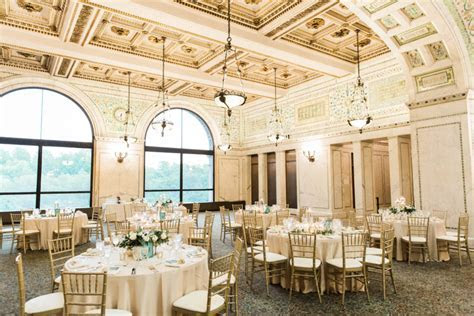 Real Wedding: Ainsley & Jad's Chicago Cultural Center
