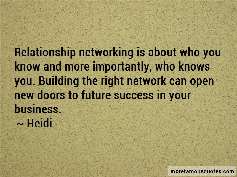 Quotes About Business Relationship Building Top 3 Business