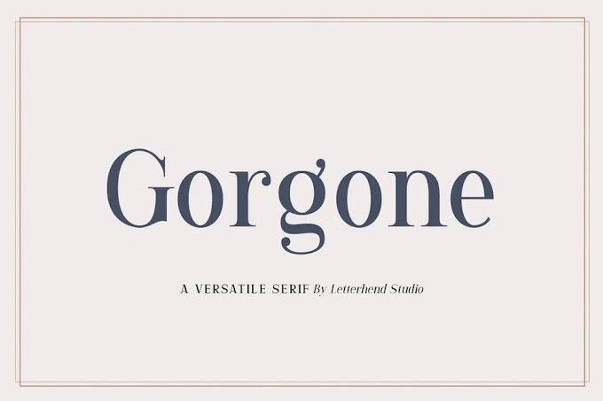 Gorgone - A Versatile Serif Font