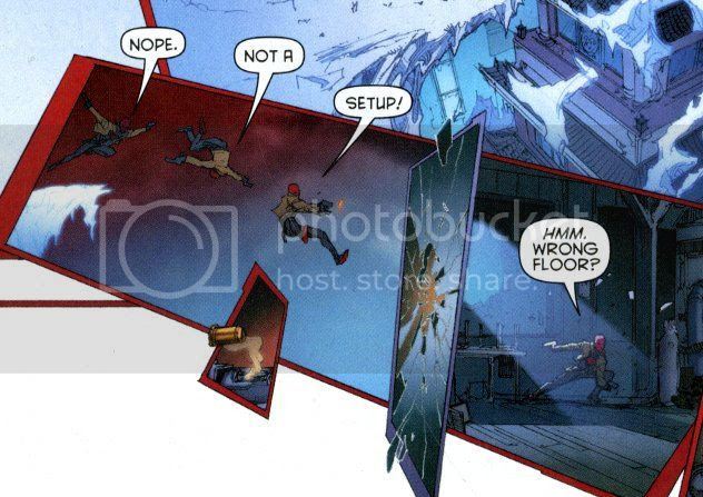 from Red Hood and the Outlaws #9, by Scott Lobdell and Kenneth Rocafort