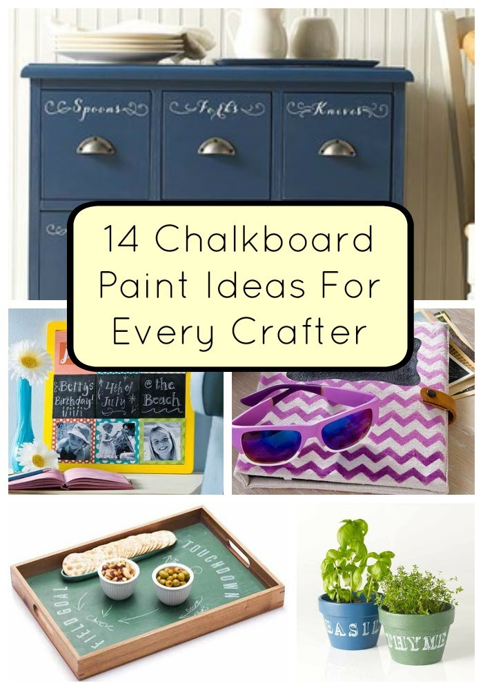 14 Chalkboard Paint Ideas For Every Crafter   FaveCrafts.com