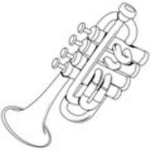 Instrumentos De Música Dibujos Para Colorear Dibujos Para