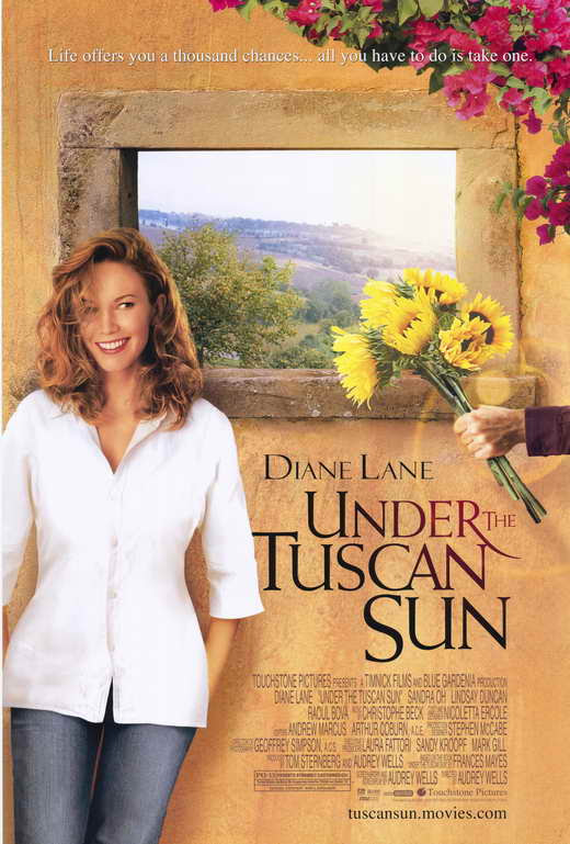 Under the Tuscan Sun Movie Posters From Movie Poster Shop