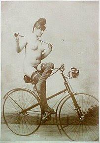 More cuties on bikes