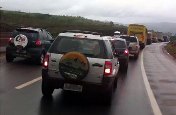 Setelagoanos transitam com frequência na BR-040