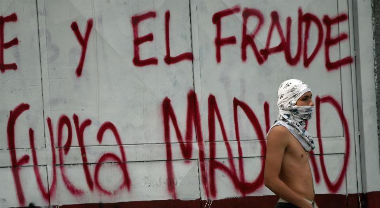 Resultado de imagem para repressão na venezuela