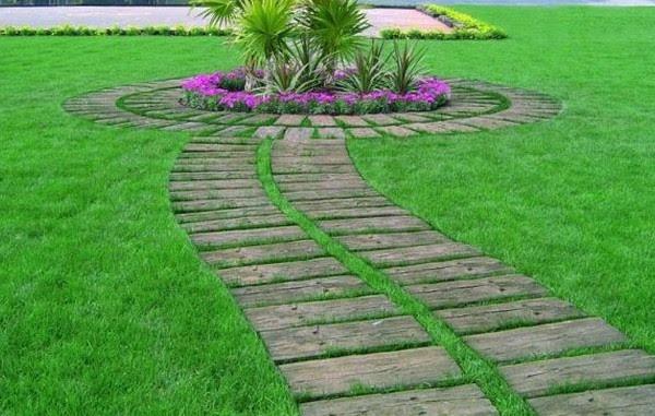 Una vuelta por los jardines for Bordillos jardin