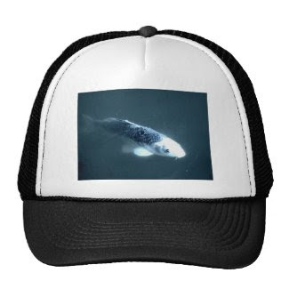 """Ghost"" Fish Trucker Hat"