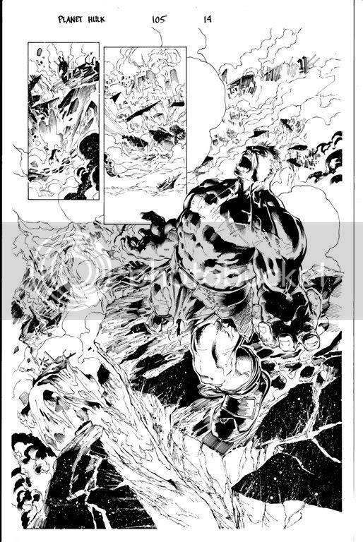 Hulk 105 sketch