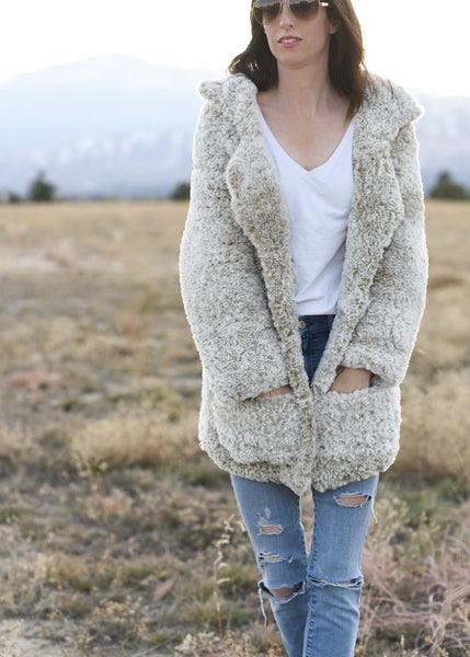 Crochet Kit - Faux Fur Coat