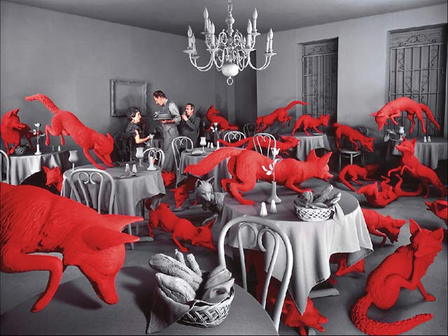 Fox Games ©1989 Sandy Skoglund