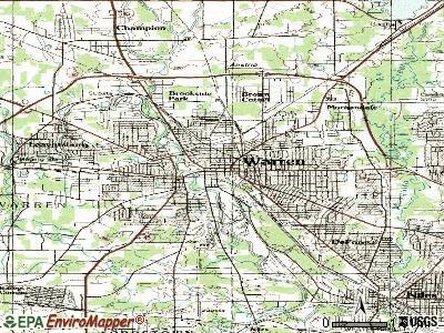 Warren Ohio Map Warren Ohio Map | States Maps