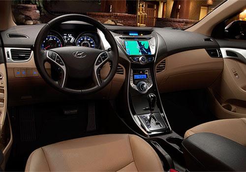 Hyundai Elantra Central Control