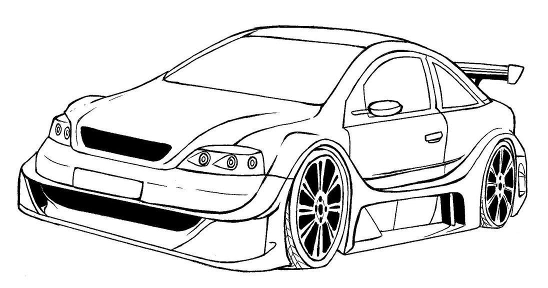 Dibujos Para Colorear Autos Deportivos