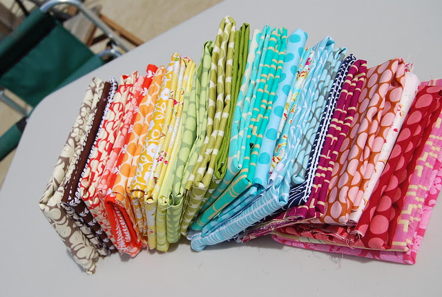 rainbow stack of goodness