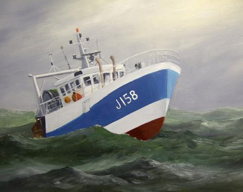 Ein Schiff malen ,Boot malen mit Ölfarben Anleitung ...