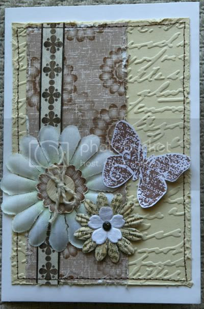 CARD-Shabby Chic