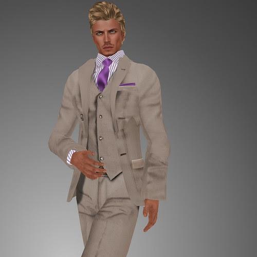 Classic suit beige ! by mimi.juneau *Mimi's Choice*