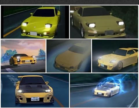 Initial D Rx7 Fd First Stage