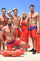 zac efron has a shirtless wax figure it visited the beach 05